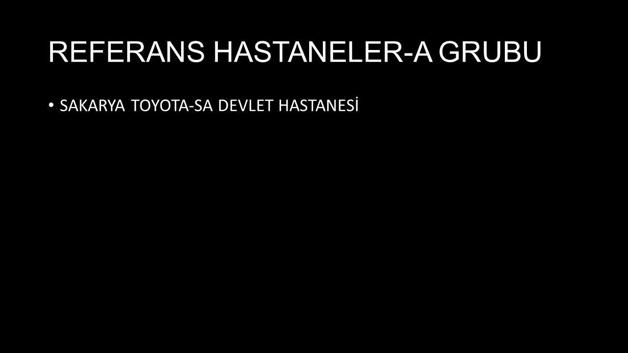 SAKARYA TOYOTA-SA DEVLET HASTANESİ