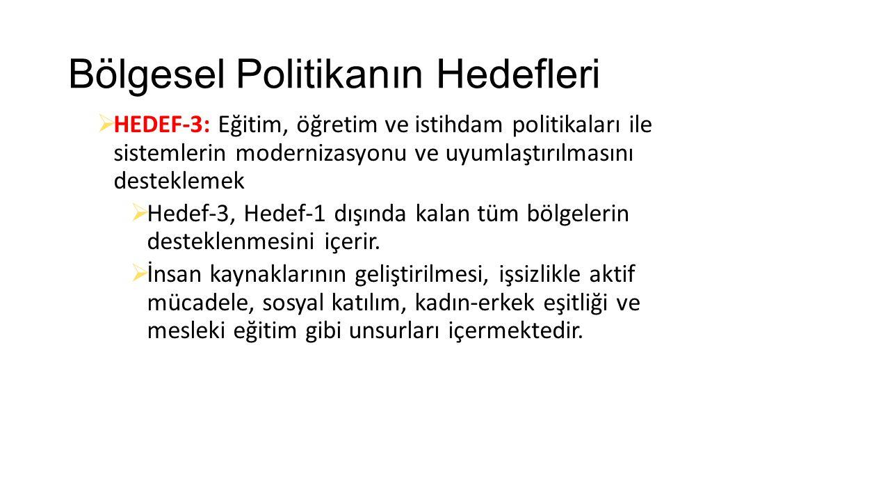 AB Bölgesel Politikasının Araçları 1.