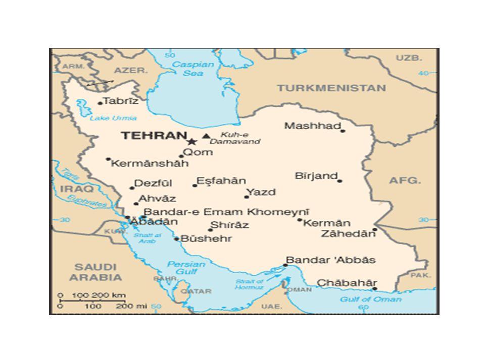 Kafkasya'ya, Ortadoğu'ya ve Türkistan'a aynı anda komşu olan İran, yine hem Hazar denizine hem de Basra Körfezi'ne ve Hint Okyanusu'na sınırı olan tek ülkedir.
