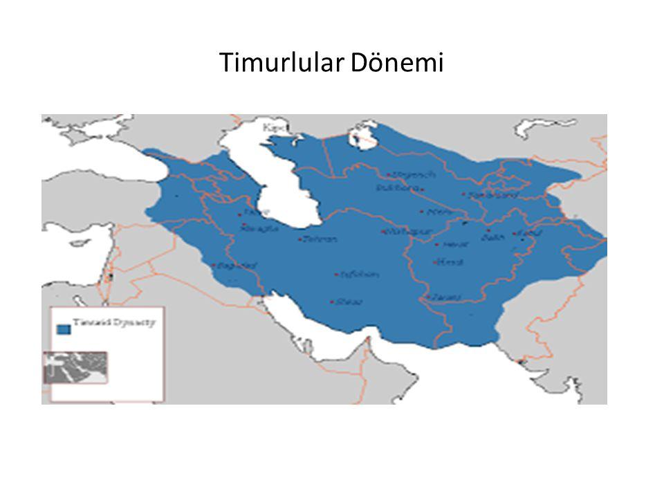 Timurlular Dönemi