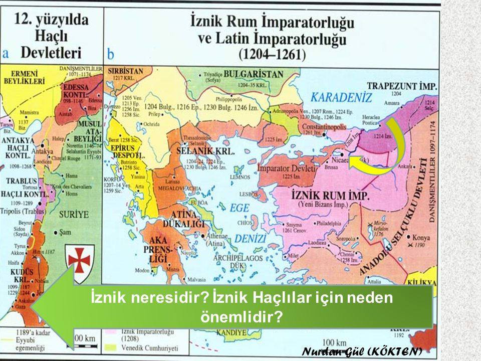 I. HAÇLI SEFERİ (1096) : Papa ve Keşiş Piyer, Avrupa'da büyük ordular oluşturmuşlardır. İlk gelen haçlılar I. Kılıçaslan tarafından imha edilmiş. Daha