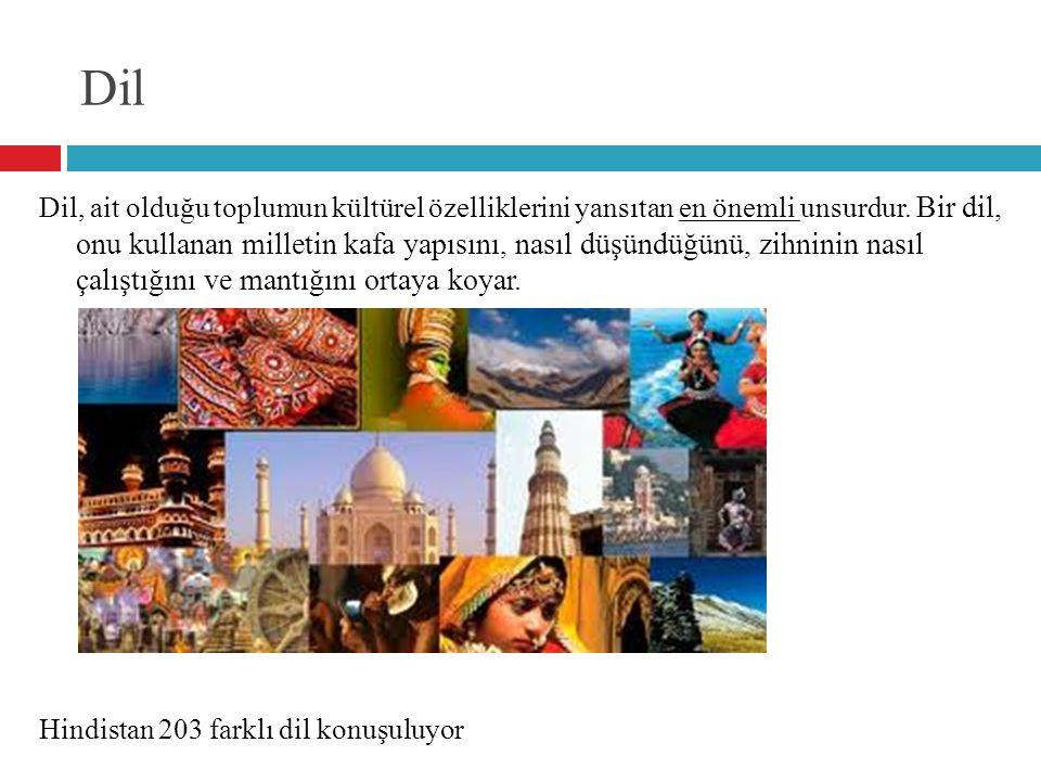 Dil Dil, ait olduğu toplumun kültürel özelliklerini yansıtan en önemli unsurdur. Bir dil, onu kullanan milletin kafa yapısını, nasıl düşündüğünü, zihn
