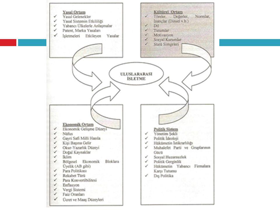 Kültürün Fonksiyonları -İletişim aracı (motive etmek, ikna etmek) -Çalışma ilişkilerinin belirleyicisi (yönetim biçimi, çalışma saatleri, bayan-erkek çalışan); -Firma ve ürün tanıtımında belirleyici; -Toplumsal ilişkilerde belirleyici; -Ürün geliştirme, iyileştirmede belirleyici -Ekonomik kalkınmada belirleyici -Tüketici tutum ve davranışlarında belirleyici