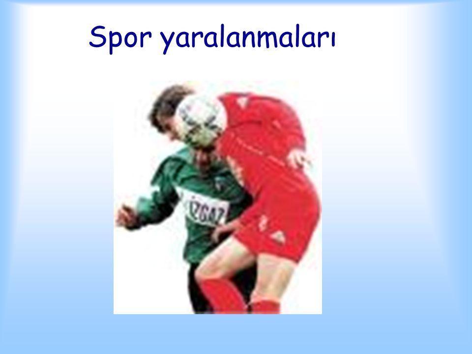Spor yaralanmaları