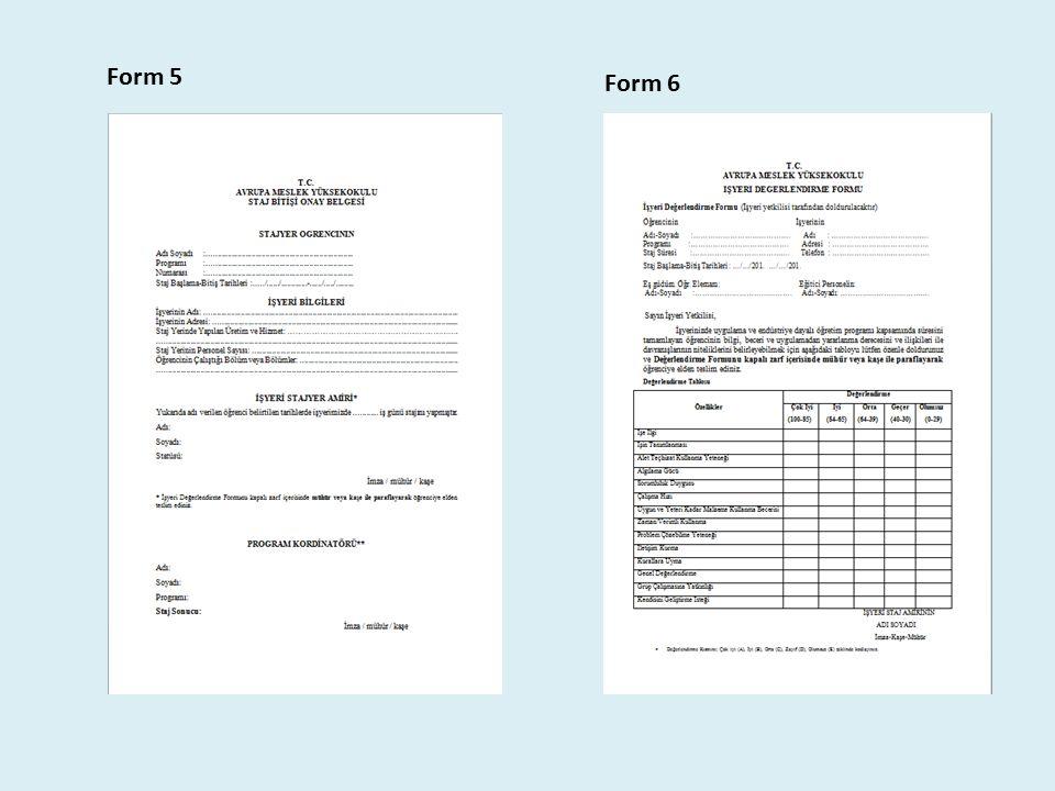 Form 5 Form 6