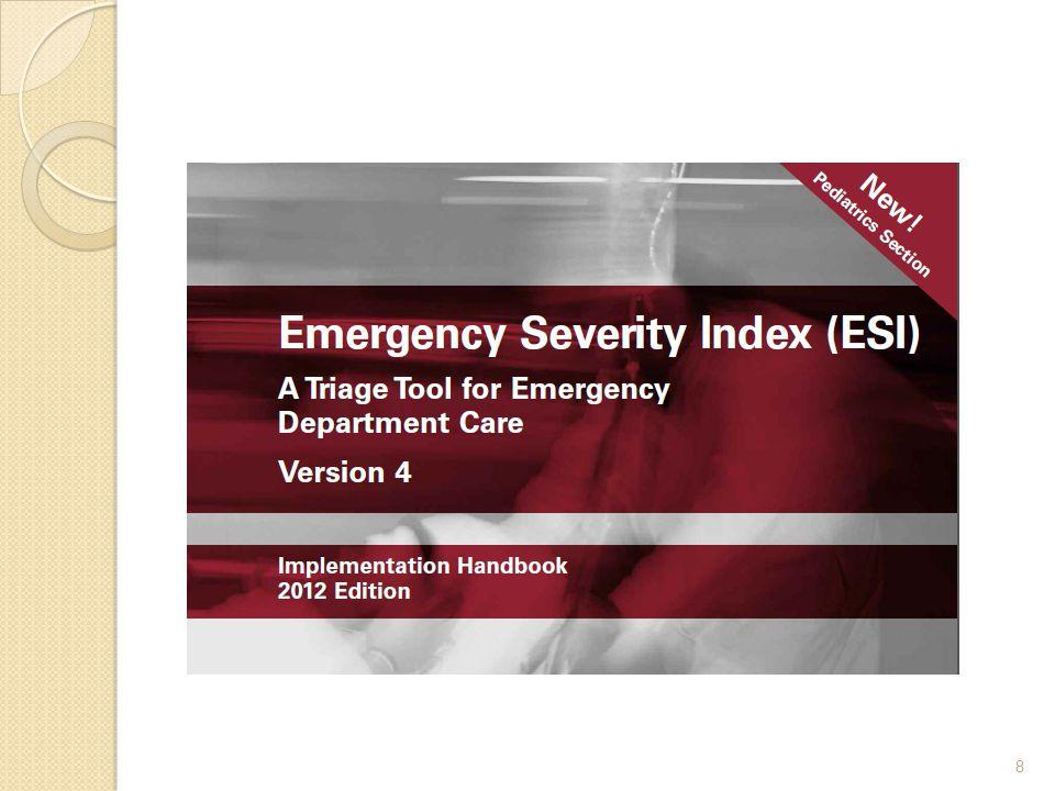  ESI Sınıf 2 ye girmeyen hastalar gerekli kaynaklar ve vital bulgular göz önüne alınarak ileri değerlendirmeye alınır  Bu değerlendirme süreci diğer hasta gruplarıyla aynı şekilde yürütülür 49