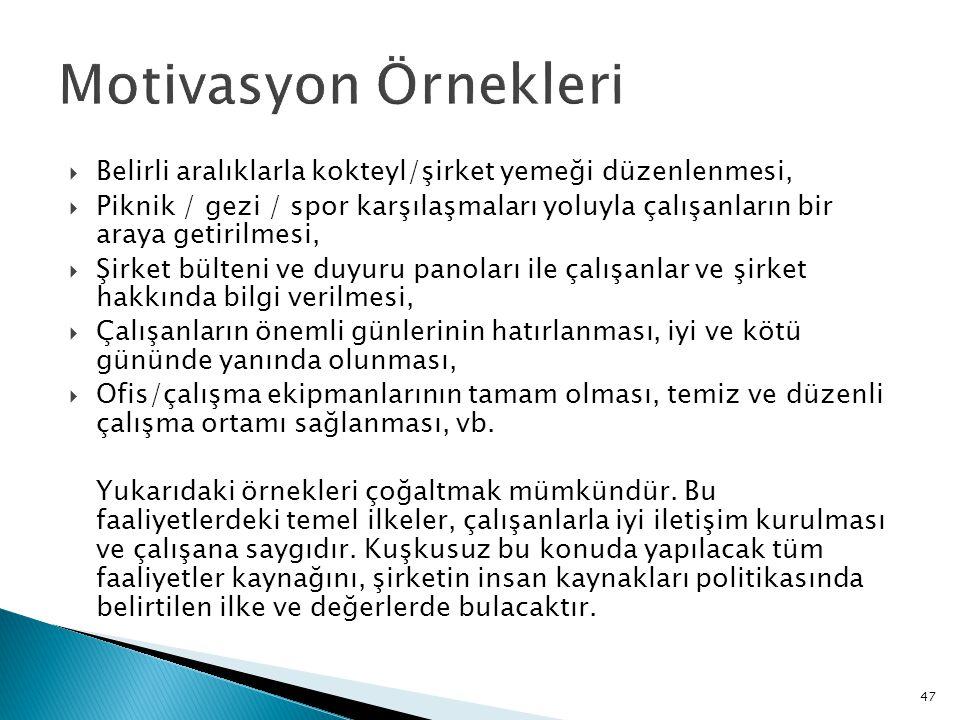 48 Kaynakça  Önder Barlı, Davranış Bilimleri ve Örgütlerde Davranış, Aktif Yayınevi, Erzurum,2012.