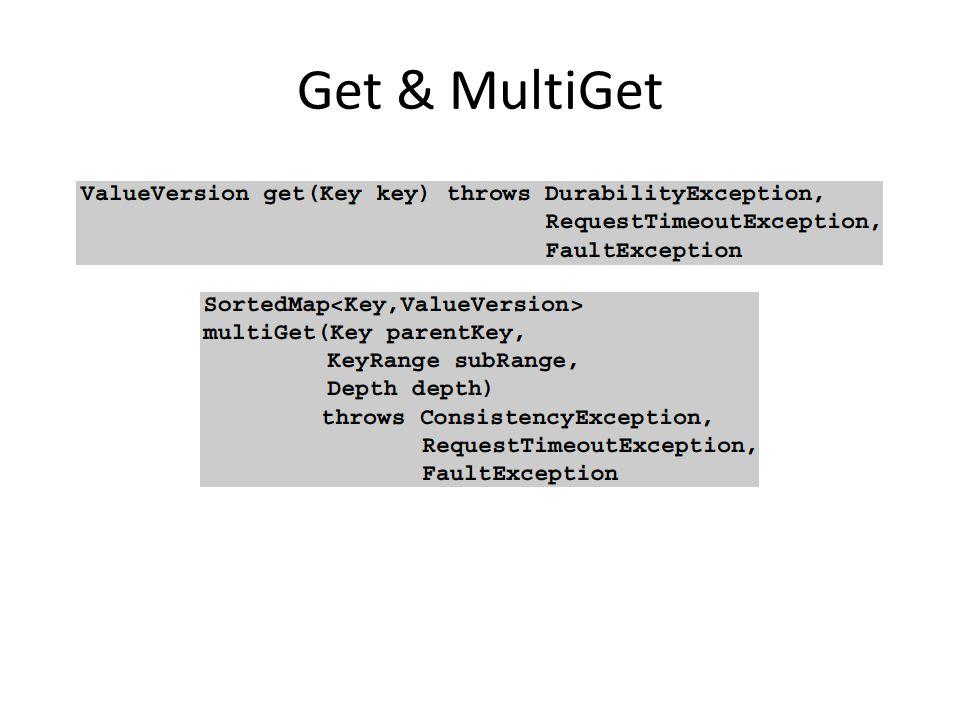 Get & MultiGet