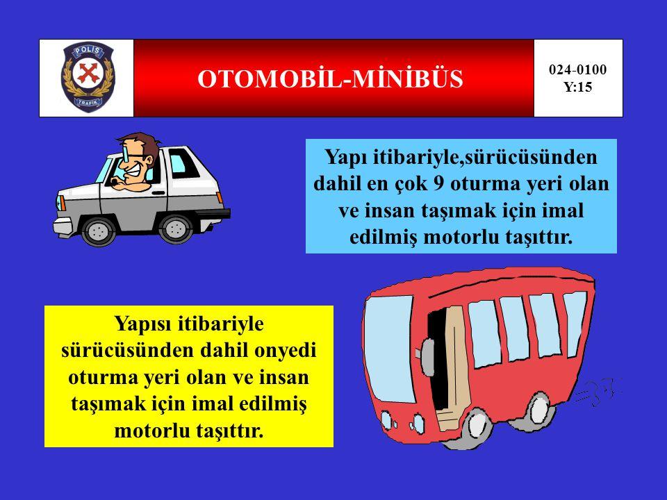 KAROYOLLARI TRAFİK KANUNU UYGULAMA ALANI 024-0100 Y:14 Bir aracın sebep olması şarttır, Vinç, teleferik asansör gibi araçlar kanun kapsamı dışındadır.