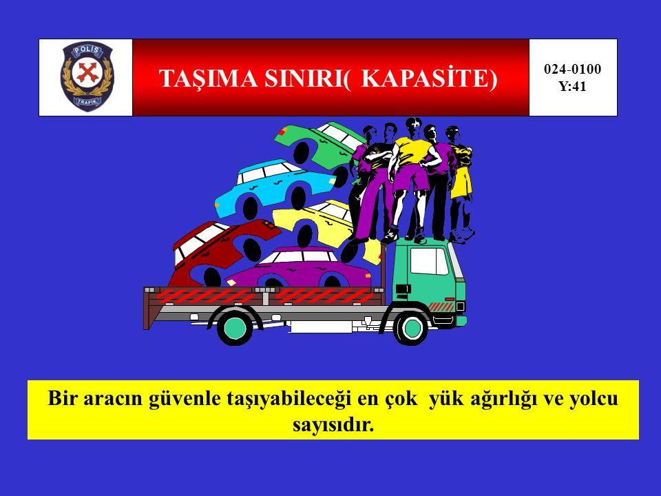 GEÇİŞ ÜSTÜNLÜĞÜ 024-0100 Y:40 Görev sırasında belirli araç sürücülerinin can ve mal güvenliğini tehlikeye sokmamak şartı ile trafik kısıtlama veya yasaklarına bağlı olmamalarıdır.