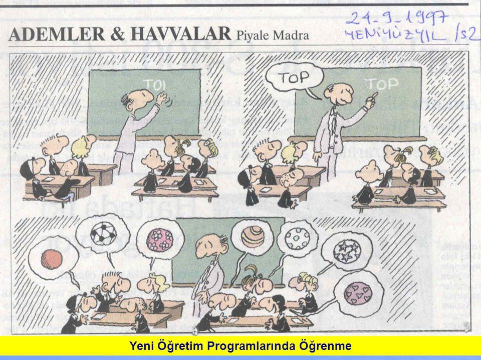 Yeni Öğretim Programlarında Öğrenme