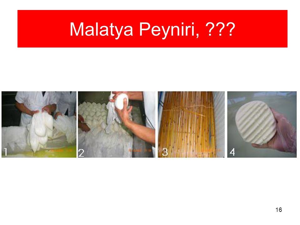 16 Malatya Peyniri, ???