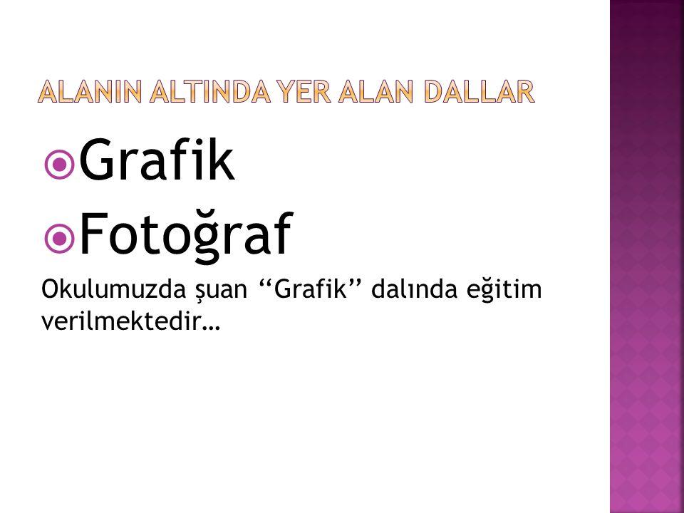 Grafik  Fotoğraf Okulumuzda şuan ''Grafik'' dalında eğitim verilmektedir…