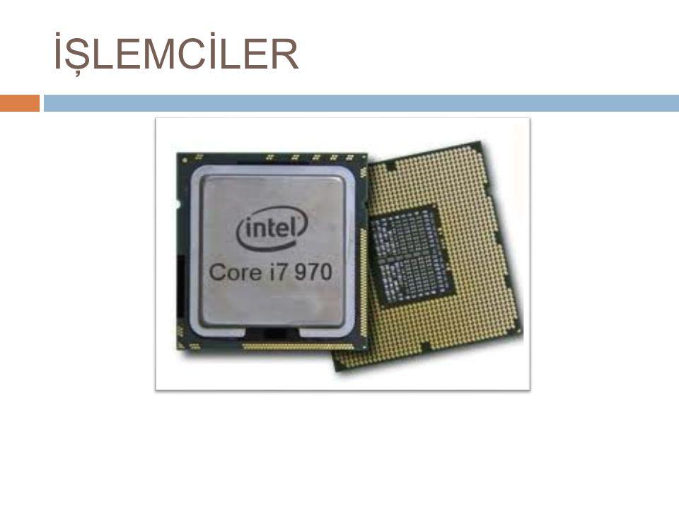 Ön Bellek (Cache) : Sistem belle ğ inden gelen veriler, ço ğ unlukla CPU'nun hızına yetişemezler.