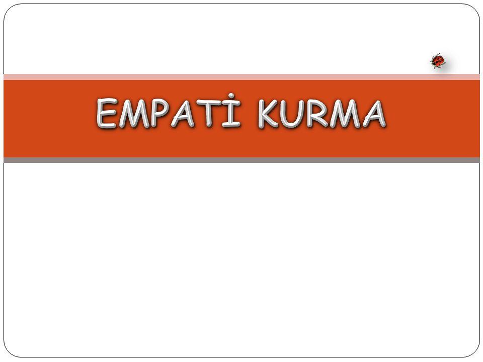 Etkili Empatinin Basamakları   Birinci basamak ifade edilen duyguyu belirleyebilmektir.