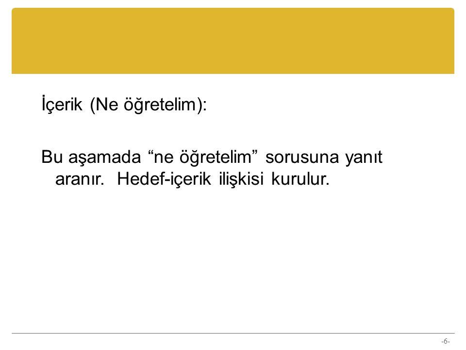 Kaynakça Demirel, Ö.(2009). Kuramdan uygulamaya eğitimde program geliştirme (12.