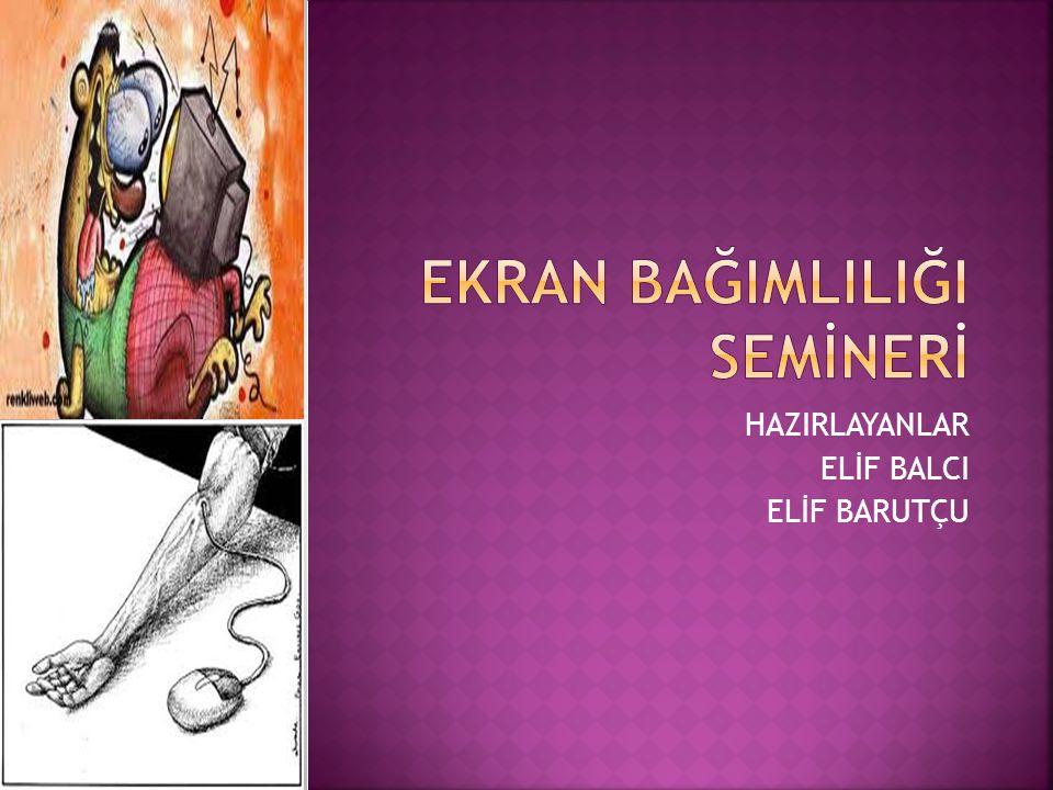 HAZIRLAYANLAR ELİF BALCI ELİF BARUTÇU