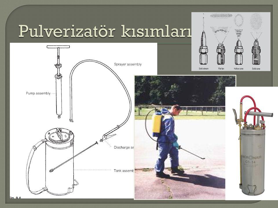 Kullanılan solventin yüksek sıcaklıklarda tutuşma riski bulunmaktadır.