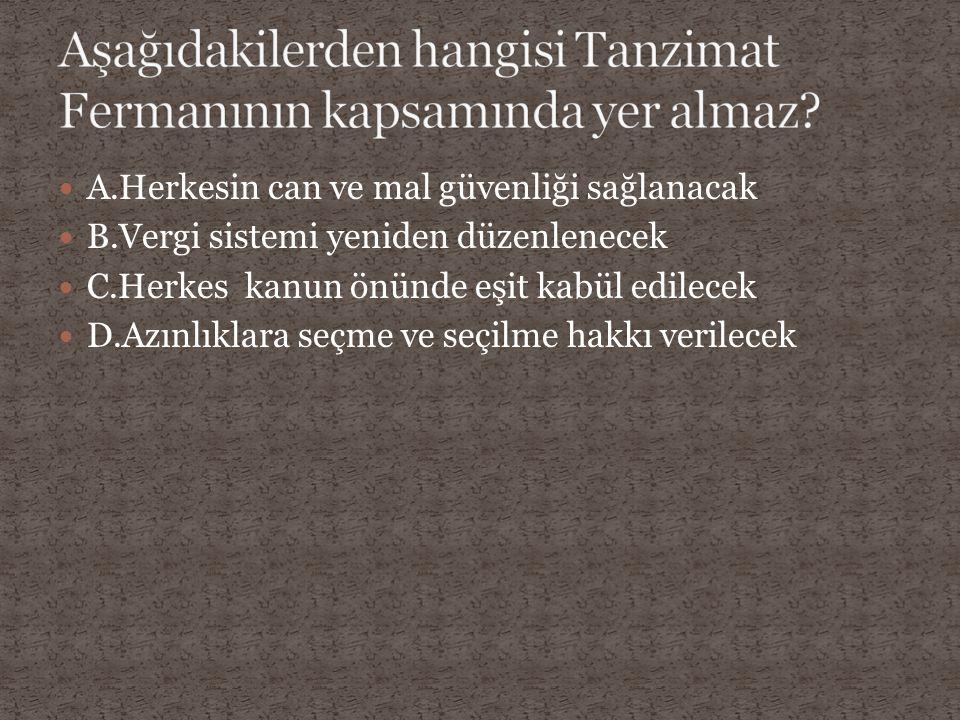 A.Hammurabi yasaları B.Kanunname ali osman C.Senedi ittifak D.Kanuni Esasi