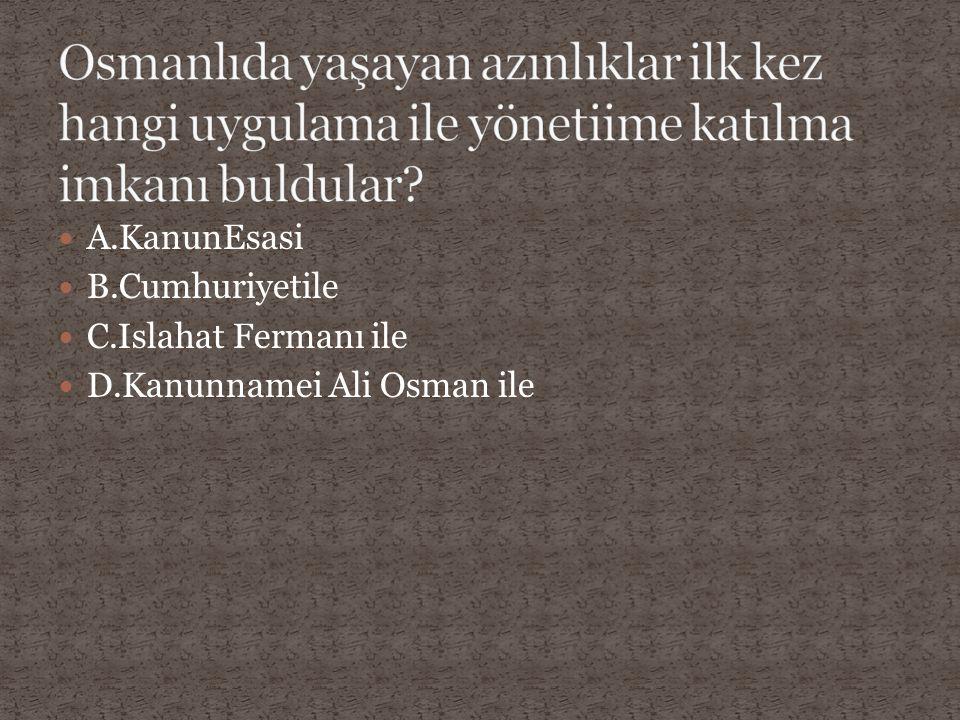 A.I.Abdulhamit B.II.Abdulhamit C.Fatih D.I.Murat