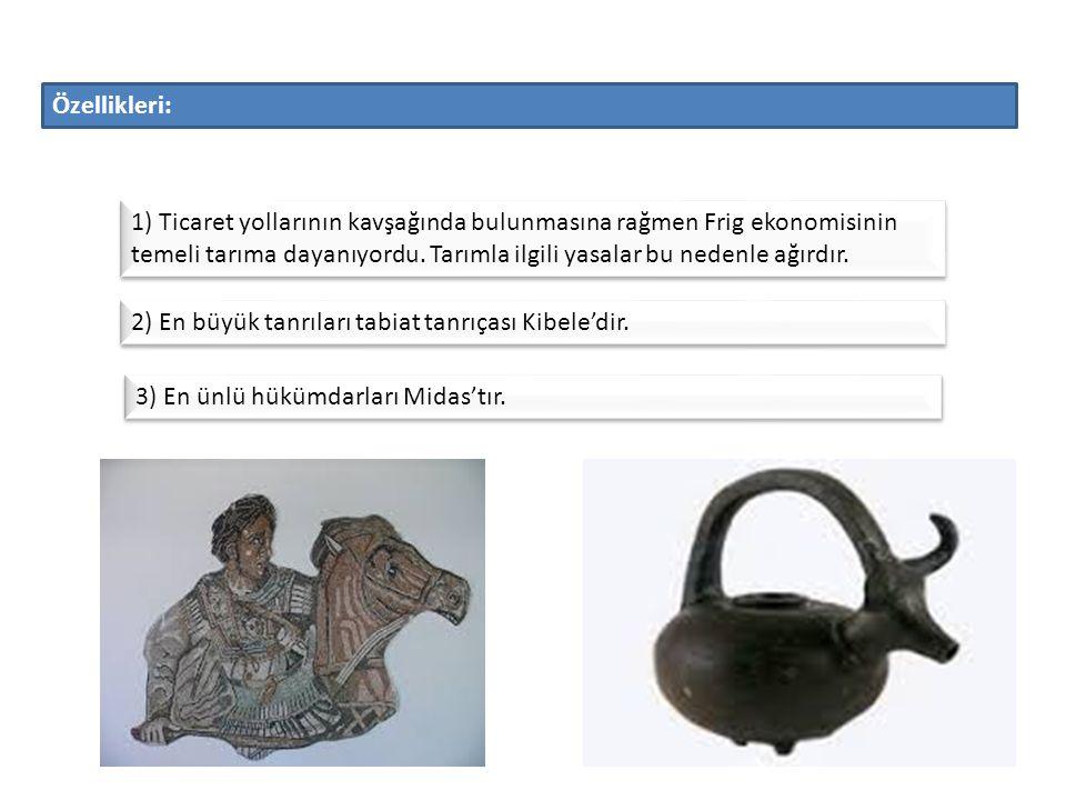 Hitit devletinin yıkılmasından sonra Anadolu'nun iç ve batı bölgelerinde kuruldu.