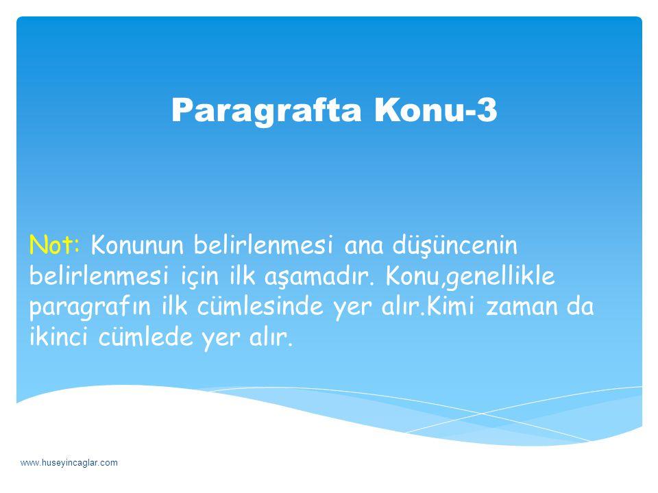 Paragrafta Başlık-2 & Başlık, konu ve anafikir ile doğrudan bağlantılıdır.