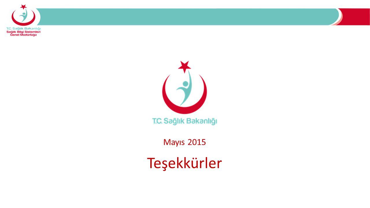 Mayıs 2015 Teşekkürler