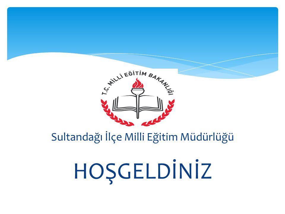 Sultandağı İlçe Milli Eğitim Müdürlüğü HOŞGELDİNİZ