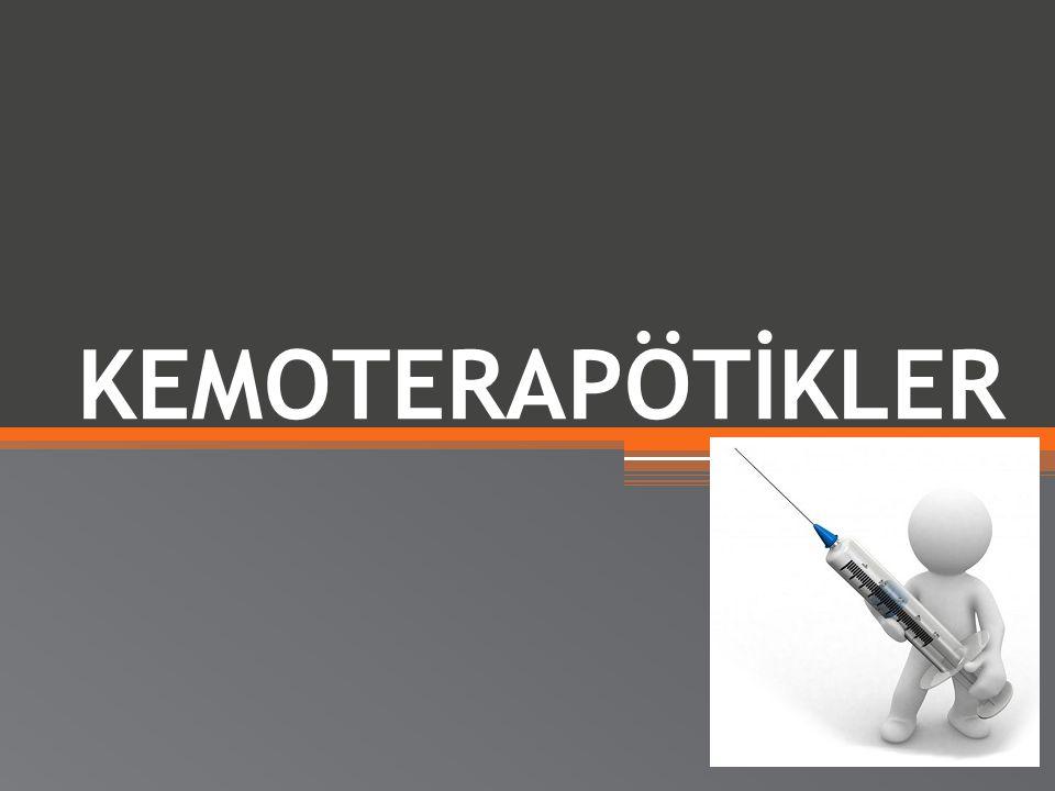 KEMOTERAPÖTİKLER