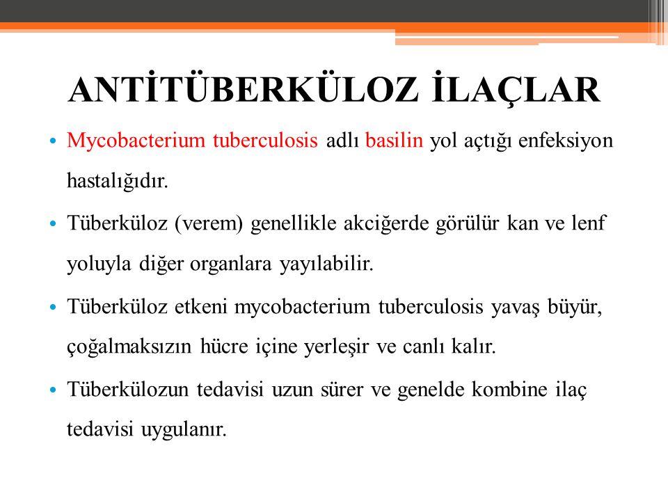 Mycobacterium tuberculosis adlı basilin yol açtığı enfeksiyon hastalığıdır. Tüberküloz (verem) genellikle akciğerde görülür kan ve lenf yoluyla diğer