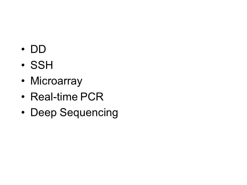 Supressive Subtractive Hybridization (SSH)