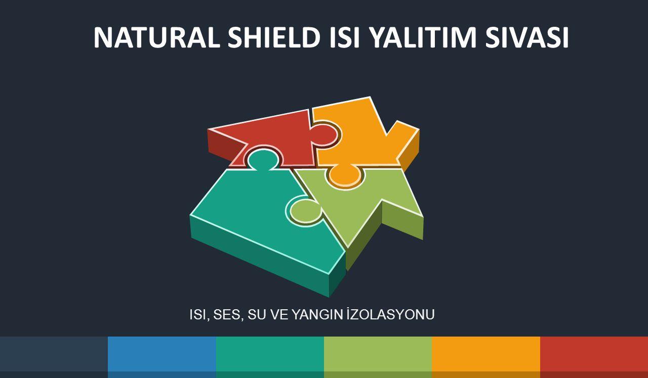 NATURAL SHIELD ISI YALITIM SIVASI ISI, SES, SU VE YANGIN İZOLASYONU