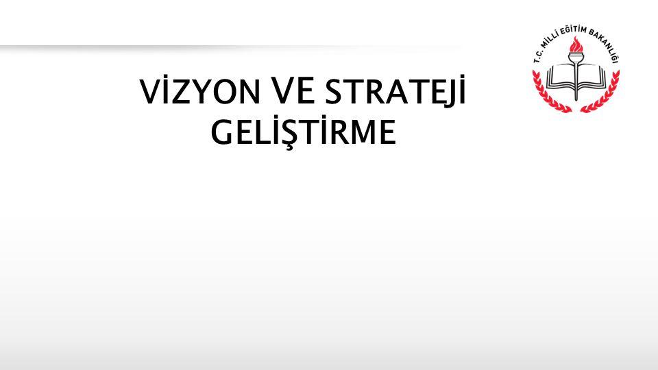 İçerik 1.Vizyon Tanımı ve Vizyon Özellikleri 2.Vizyonun Değerler, Misyon ve Eylemlerle İlişkisi 3.Vizyon Geliştirme Süreci 4.Strateji Geliştirme 5.Vizyoner Liderlik 6.Stratejik Planlama VİZYON ve STRATEJİ GELİŞTİRME