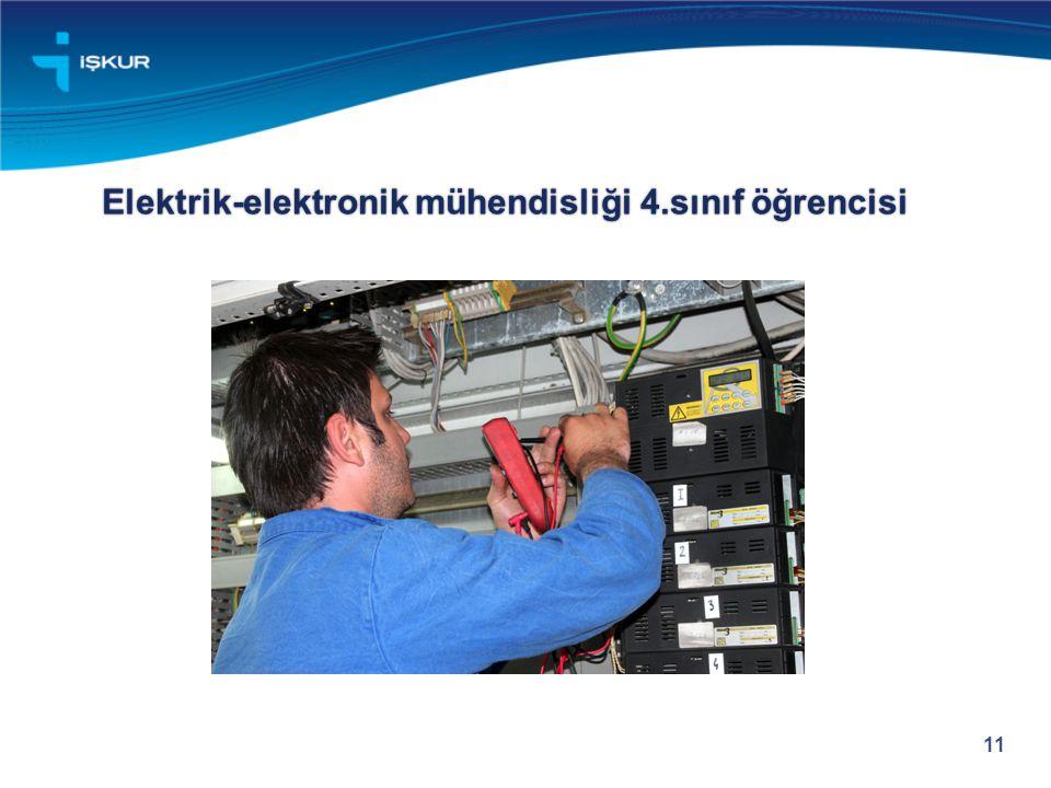 Elektrik-elektronik mühendisliği 4.sınıf öğrencisi 11