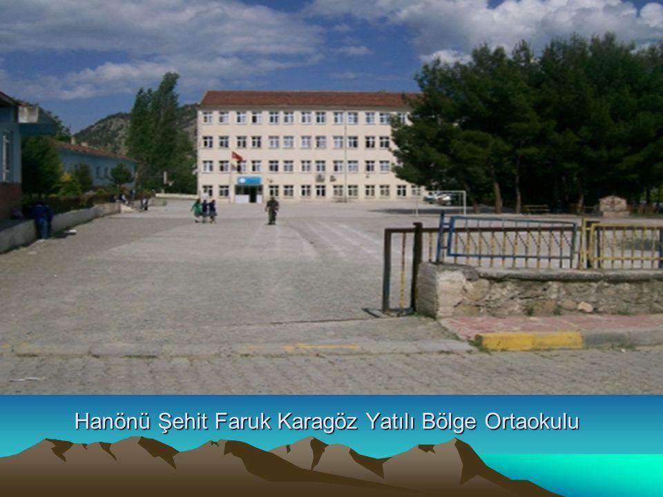 Hanönü Şehit Faruk Karagöz Yatılı Bölge Ortaokulu