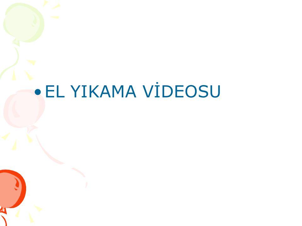EL YIKAMA VİDEOSU