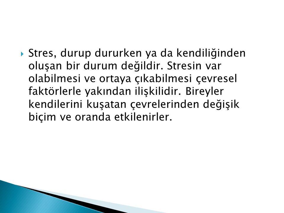 3.İyi Bir Yönetim ve Organizasyon Sağlama İş yerindeki stresin temel nedenlerinden biri kötü yönetimdir.