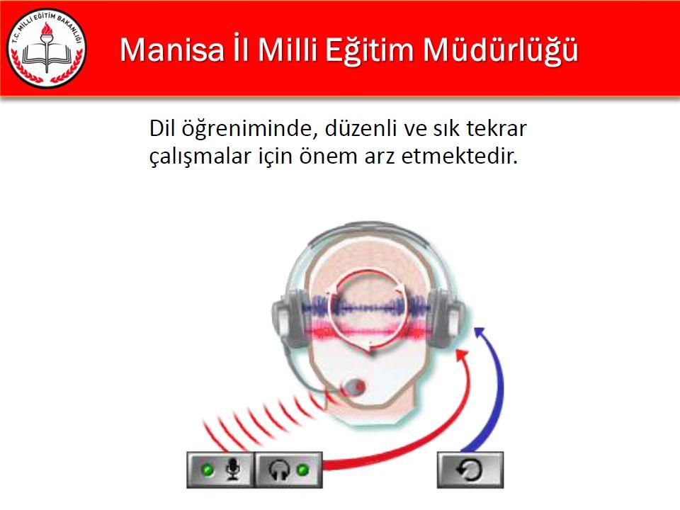 Manisa İl Milli Eğitim Müdürlüğü Manisa İl Milli Eğitim Müdürlüğü