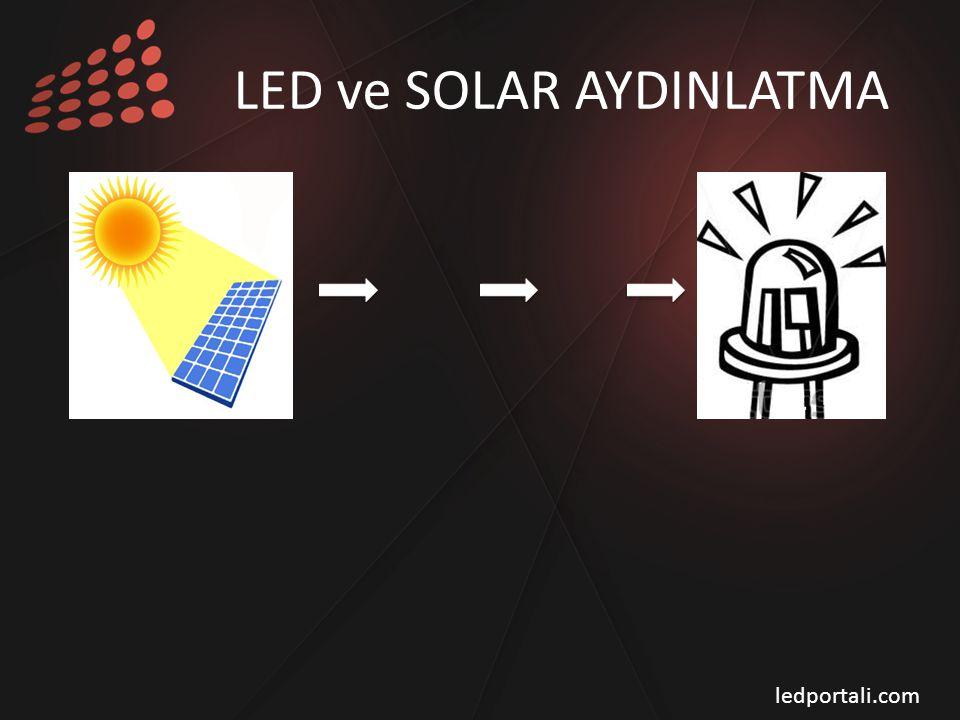 LED ve SOLAR AYDINLATMA ledportali.com