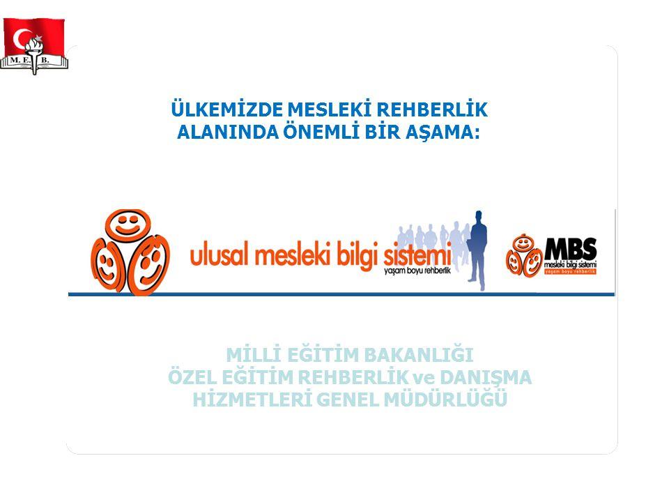 AB Çerçevesinde Mesleki Rehberlik  Avrupa Mesleki Eğitimi Geliştirme Merkezi (CEDEFOP)  Ekonomik İşbirliği ve Kalkınma Teşkilatı (OECD)  Dünya Bankası Belgeleri  Lizbon Stratejisi Eğitim ve Öğretim Hedefleri 2010  Kopenhag Süreci  2004 ve 2008 Konsey Kararları ve öncelikli alanlar  Avrupa Hayat Boyu Rehberlik Politika Ağı (ELGPN)  Eğitim 2020 AB Çerçevesinde Hayat Boyu Mesleki Rehberlik