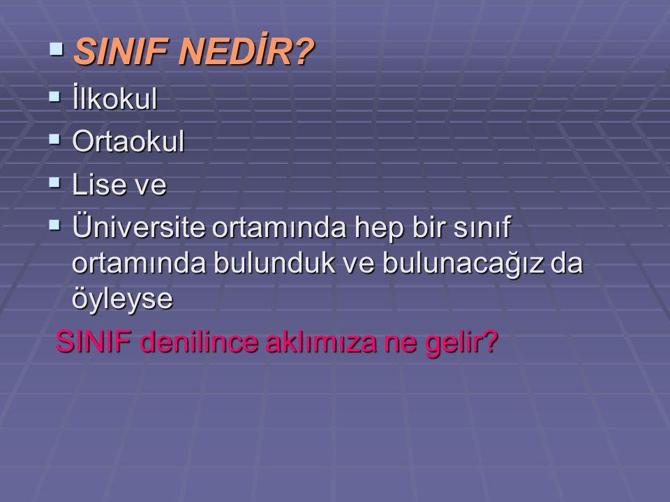 SINIF