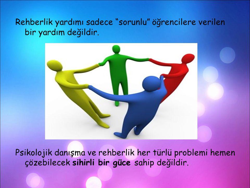 4-Psikolojik Danışma Ve Rehberliğin Dayandığı Temel İlkeler  Her birey seçme özgürlüğüne sahiptir.