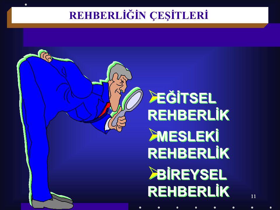 10 REHBERLİĞİN DAYANDIĞI İLKELER 7.