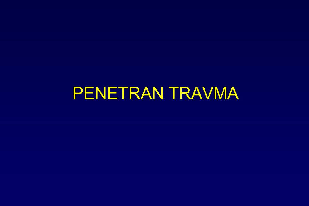 PENETRAN TRAVMA