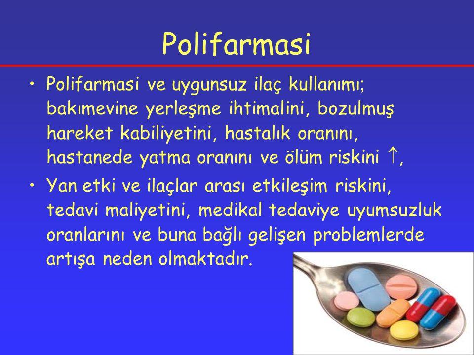 Statin Etkileşimleri Başlıca toksik etkileri Transaminaz , myopati, rabdomiyoliz, akut böbrek yetmezliği Etkileşime girebilecek bir ilaçla kulanılırken statin dozu 20 mg Lovastatin'e eşdeğer olmalıdır Hastalar kas ağrısı, duyarlılığı ve zayıflığı yönünden uyarılmalıdır Lovastatin Simvastatin Atorvastatin Serivastatin Fluvastatin Pravastatin CYP3A4 CYP2C9 CYP üzerinden yıkılmıyor