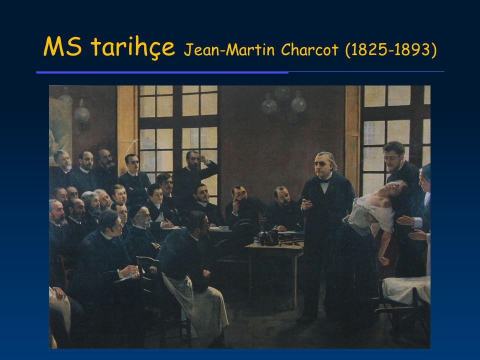 MS tarihçe Jean-Martin Charcot (1825-1893)
