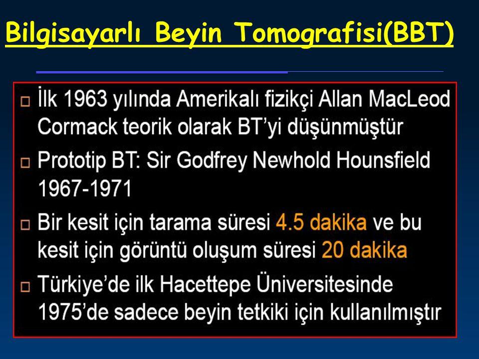 1981, MR dönemi 0.15 T, UBC, 1983 (Türkiyede ilk MRI 1989 İzmir Dokuz Eylül Üniv.Tıp Fak) (3 Tesla MRI 2002 HÜTF)- 1 Nisan 2015 KTÜ TIP FAKÜLTESİ