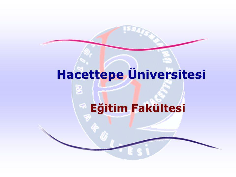 Hacettepe Üniversitesi Eğitim Fakültesi
