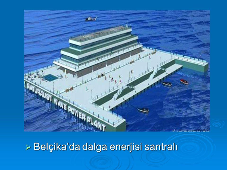  Belçika'da dalga enerjisi santralı