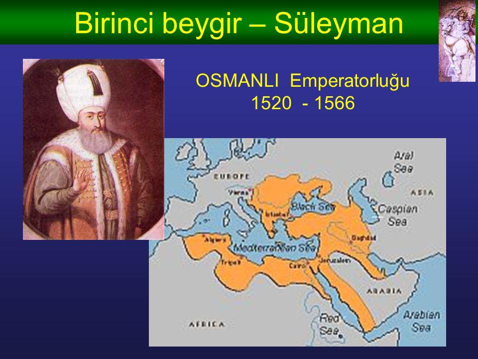 Birinci beygir – Cengiz Han MONGOL Emperatorluğu 1206 - 1227